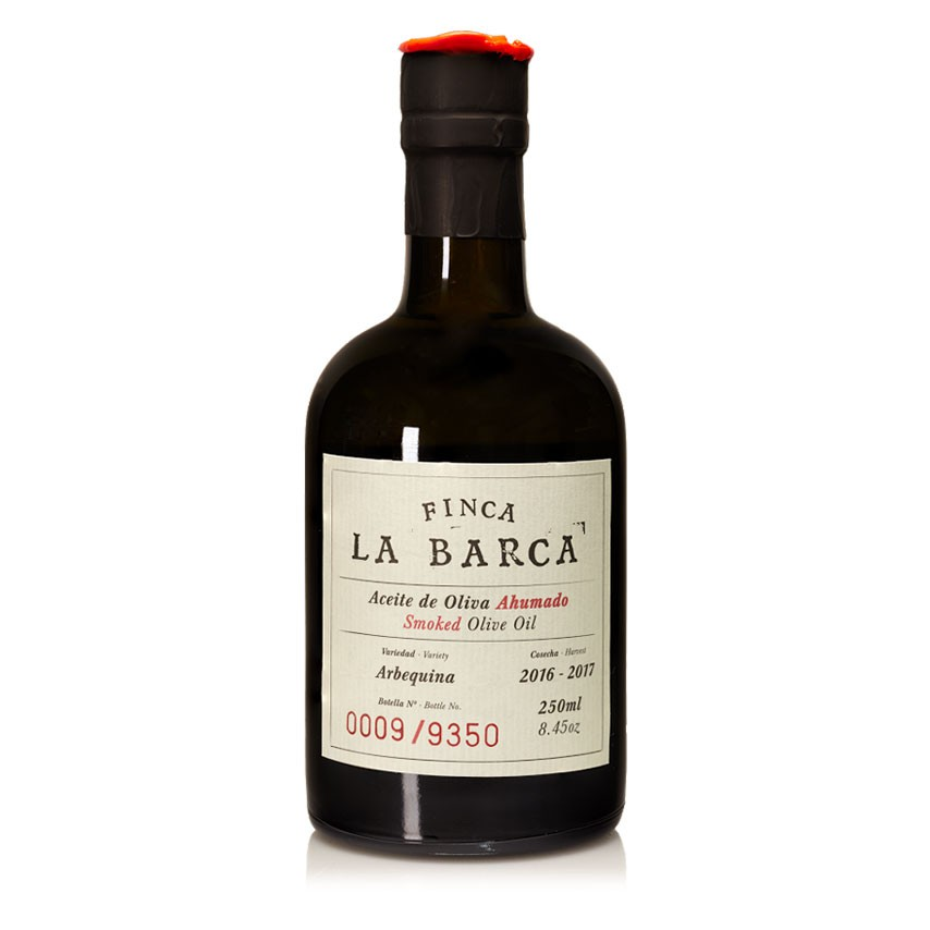 Aceite de Oliva Ahumado Botella 250 ml