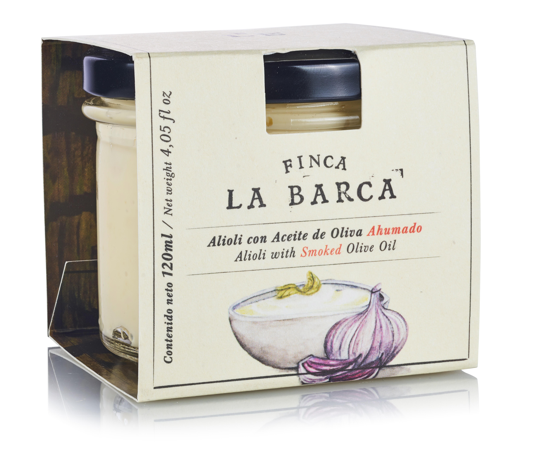 Alioli con Aceite de Oliva Ahumado tarro 120 ml