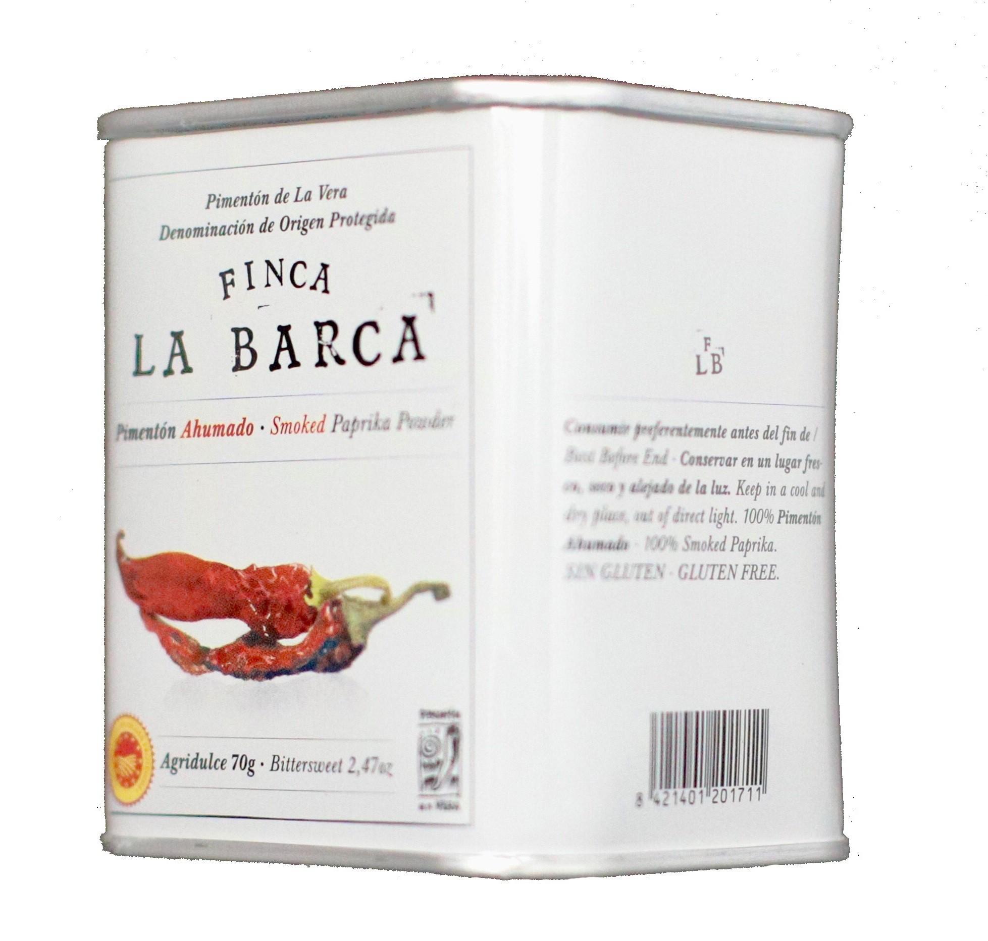 Bitter-Sweet Smoked Paprika Powder 70g Tin