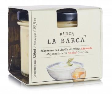 Mayonnaise a d'huile d'olive fumée 120 ml.