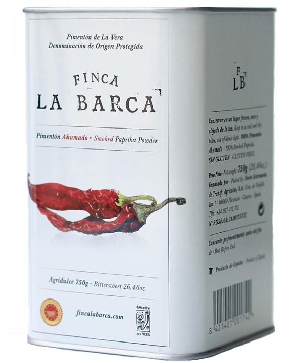 Pimentón de La Vera Lata Agridulce 750g